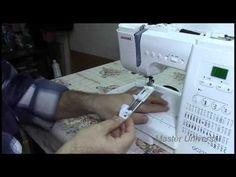 Потайная строчка и штопка на швейной машинке Janome.Часть12.Видео №19. - YouTube