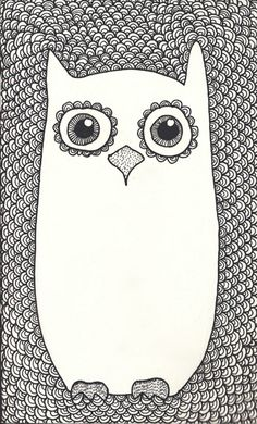 Something about owl's.. they're just so stinkin cute.