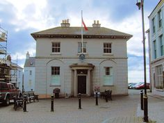 Old House Of Keys, Castletown, Isle Of Man - former home of the Manx Parliament