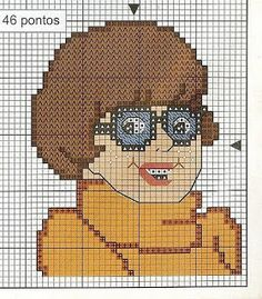 Scooby doo characters cross stitch gold mine
