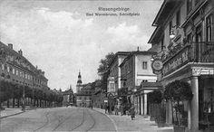 Plac Piastowski - po prawej Hotel Preussischer Hof.