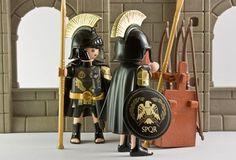 Soldados romanos negro
