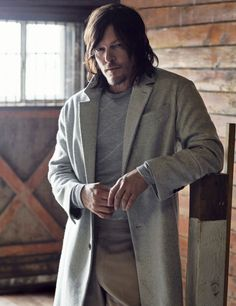 Norman Reedus photographed by Mark Seliger for Details Magazine 2015