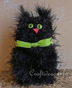 Pom-Pom  Black Cat