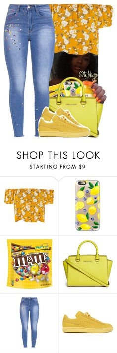 """"" by tybkya ❤ liked on Polyvore featuring Casetify, MICHAEL Michael Kors and Puma"