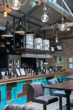 Restaurant & Bar Design Awards Shortlist Pub (UK) - Restaurant & Bar Design [L] Bar Design Awards, Pub Design, Coffee Shop Design, Café Bar, Pub Bar, Bar Interior, Restaurant Interior Design, Restaurant Concept, Cafe Restaurant