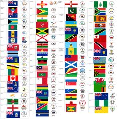 Sam's Flags: CG1: Commonwealth Games