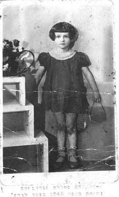 Stela Sandovska, who perished in the Lodz Ghetto in January, 1945 Holocaust Memorial, Ww2 History, European History, Warsaw Ghetto, History Of Photography, Lest We Forget, Second World, World War Ii, Germany