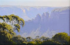 Australian landscape paintings by John Wilson. Australian Painting, Australian Art, Traditional Landscape, Traditional Paintings, Abstract Landscape, Landscape Paintings, Long Painting, Android Art, Royal Art
