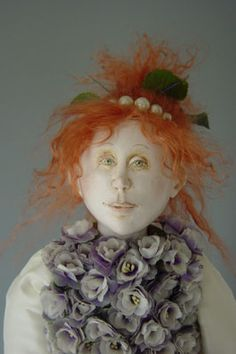 This doll is by Marlaine Verhelst.