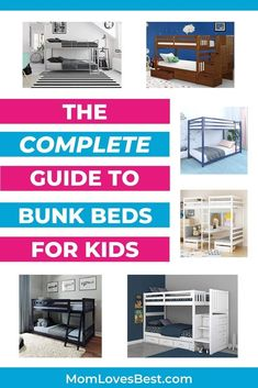 It's so much easier to shop for bunk beds for kids when you have a plan in place. You need to consider some key factors to make sure the beds will fit in the room and with the height of the ceilings. #cribs #cribbedding #swaddling #swaddle #swaddleblanket #bassinet #babysleep #babysleeptips #babysleepschedule #babysleeptraining Cool Bunk Beds, Kids Bunk Beds, Kids And Parenting, Parenting Hacks, Baby Sleep Schedule, Swaddle Blanket, Diy On A Budget, Crib Bedding, Home Organization