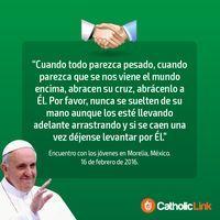 Biblioteca de Catholic-Link - 10 frases del Papa Francisco durante su visita a...