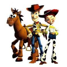 Toy Story ~ Woody Jessie Bullseye Cowboy Disney Iron On Transfer for T-Shirt