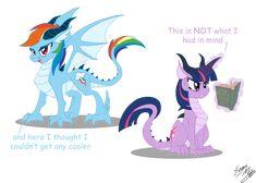 Dragon Ponies Set 1 by Blood-Asp0123.deviantart.com on @deviantART