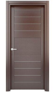 New flush door design modern ideas Bedroom Door Design, Door Design Interior, Interior Barn Doors, Interior Columns, Wooden Glass Door, Wooden Main Door Design, Modern Wooden Doors, Wood Front Doors, The Doors