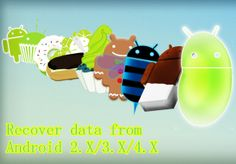 Recover data from Android 2.3/4.0/4.1/4.2/4.3/4.4 #tech #android