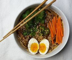 Crockpot Caramelized Pork Ramen Noodle Soup