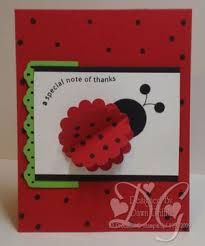 ladybug home made cards - Google Search