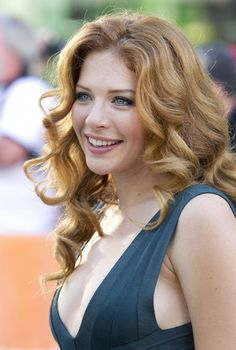 rachelle lefevre-- She does red hair so well! Beautiful