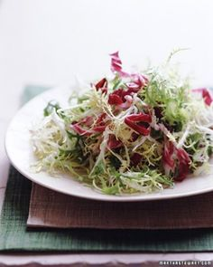 """See the """"Frisee and Radicchio Salad"""" in our  gallery"""