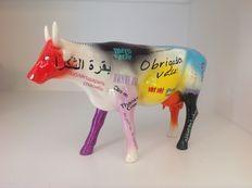 Marcello Xavier – CowParade – Thank you Cow Mama Mia – resin – Large en retired.