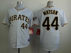 http://www.xjersey.com/pirates-44-watson-white-cool-base-jerseys.html Only$34.00 PIRATES 44 WATSON WHITE COOL BASE JERSEYS #Free #Shipping!