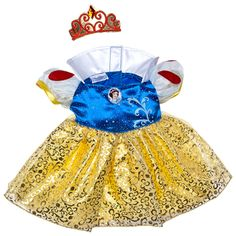 Snow White Costume 2 pc. - Build-A-Bear Workshop US