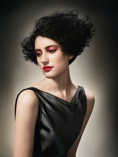 ...another beautiful curly shape...from Mid Season 2010 Sassoon Academy Collection | Deco Deluxe