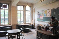 京都の旧小学校校舎を使った隠れ家カフェ。レトロな雰囲気がたまらない「トラベリングコーヒー」
