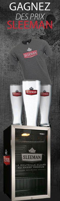 Gagnez des prix ou un voyage Sleeman. Fin le 30 septembre.  http://rienquedugratuit.ca/concours/voyage-sleeman/