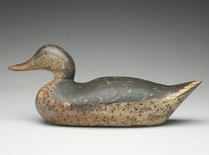 Mallard hen, Mason Decoy Factory, Detroit, Michigan, circa 1900