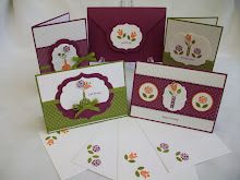 Bright Blossoms Stamp Class
