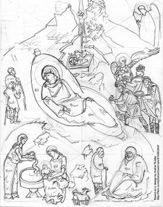 2003 Nativity cartoon | Flickr - Photo Sharing!