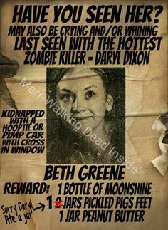 The Walking Dead, Memes, Beth Greene, Daryl Dixon
