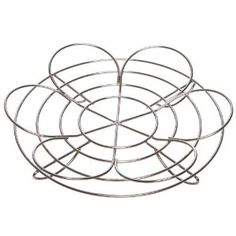super-cool canning trivet (as seen on Food in Jars) stabilizes 7 half-pint or pint jars, and reverses to hold 4 quart jars.