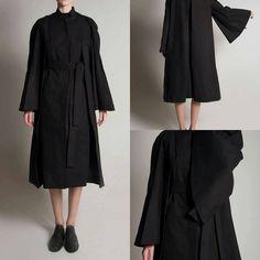 Pleated Kimono Coat by Y/Project  www.blackcelebrationstore.com