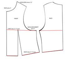 Point's Vest Pattern + Build tute *currently afflicted by the Photobucket Thing*