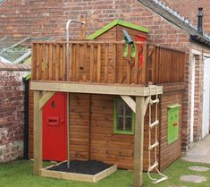 One of one of the most fulfilling and simplest weekend jobs it is possible to do to stimulate your child's creativity would be to develop an outside playhouse. Childrens Wooden Playhouse, Kids Playhouse Plans, Kids Indoor Playhouse, Outside Playhouse, Garden Playhouse, Build A Playhouse, Stilt House Plans, House On Stilts, Woodworking Guide