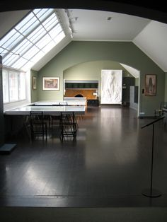 Studio at Eliel Saarinen's Summer House