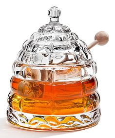 Take a look at this Beehive Crystal Honey Jar on zulily today!