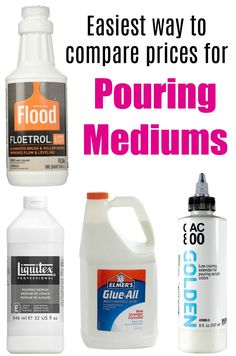 You will have likely heard the term 'pouring medium' used in acrylic pour painting, but what is a pouring medium,…