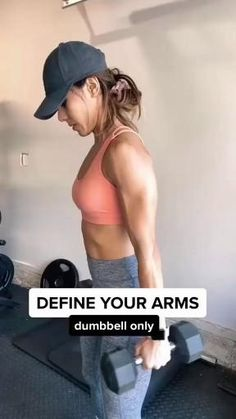 Fitness Workouts, Gym Workout Videos, Fitness Workout For Women, Butt Workout, Fitness Goals, Fitness Tips, At Home Workouts, Fitness Motivation, Back Of Arms Workout
