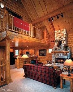 Ready for a cabin vacation ... nah, I'm dreaming of cabin life! :)