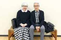 Move over, Kim and Kanye – Bon and Pon are the new Instagram couple du jour Cut from the same cloth? If you assumed Instagram was a young person's game, think again. Two silver surfers from Japan have become the Insta stars du jour, charming users of the photo-sharing platform with their carefully co-ordinated outfits and distinctively dapper style.  https://inews.co.uk/essentials/lifestyle/people/move-kim-kanye-bon-pon-new-instagram-couple-du-jour/ #InstagramNews #InstagramTips