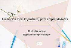 Formación ideal y gratuita para emprendedores que quieran aprender sobre informática, crear una web, contabilidad...