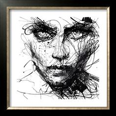 In Trouble, She Will Giclee Print by Agnes Cecile at Art.com