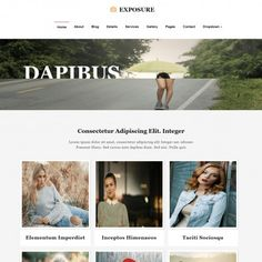 Buzz world is a clean silky and shiny designed web template which photo business website template photographer photography portfolio exposure templates is formally designed to accmission Image collections