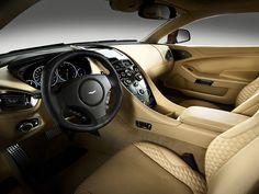 2017 Aston Martin Vanquish Interior Detailing Automotive Auto Trim