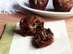 szilvalekváros süti Muffin, Pudding, Beef, Cookies, Chocolate, Breakfast, Desserts, Food, Cupcake