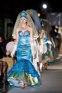 #vafashionweek #runway #art #dress #photography #JenkasFashion #couture #Russian #Luzhina #kokoshnik #newyerkcouturefashionweek